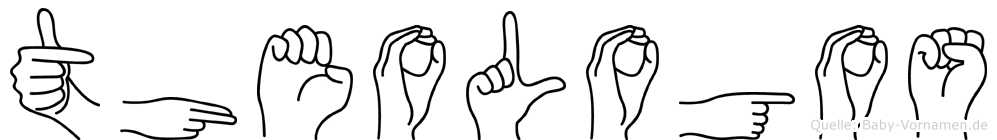 Theologos in Fingersprache für Gehörlose