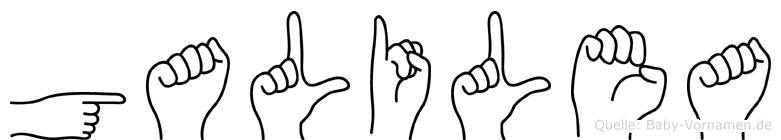 Galilea in Fingersprache für Gehörlose