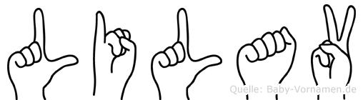 Lilav in Fingersprache für Gehörlose