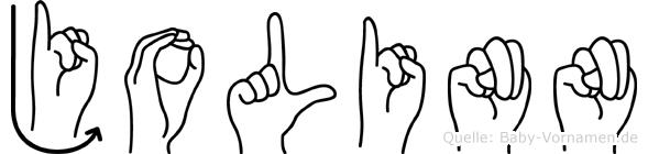Jolinn in Fingersprache für Gehörlose