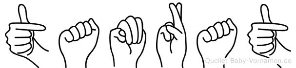 Tamrat im Fingeralphabet der Deutschen Gebärdensprache