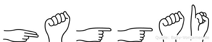 Haggai in Fingersprache für Gehörlose