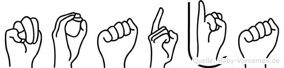 Noadja in Fingersprache für Gehörlose