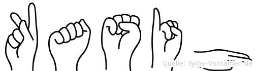 Kasih in Fingersprache für Gehörlose