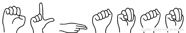 Elhanan in Fingersprache für Gehörlose