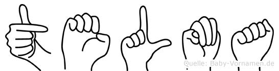 Telma in Fingersprache für Gehörlose