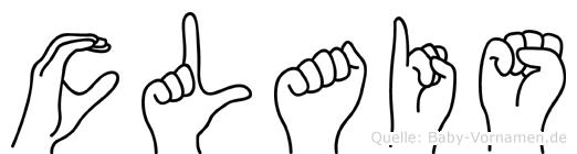 Clais in Fingersprache für Gehörlose