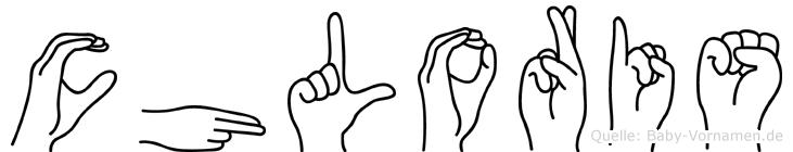 Chloris in Fingersprache für Gehörlose