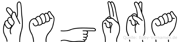 Kagura in Fingersprache für Gehörlose