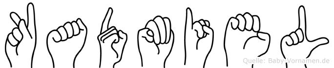 Kadmiel in Fingersprache für Gehörlose