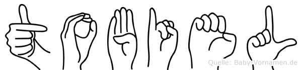 Tobiel in Fingersprache für Gehörlose