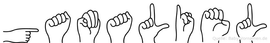Gamaliel in Fingersprache für Gehörlose