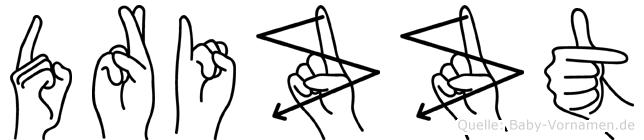 Drizzt in Fingersprache für Gehörlose