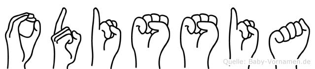 Odissia in Fingersprache für Gehörlose
