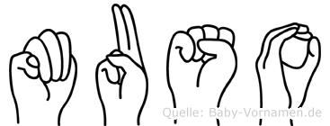 Muso in Fingersprache für Gehörlose