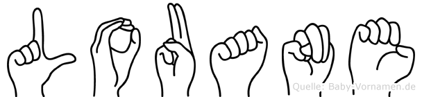 Louane in Fingersprache für Gehörlose