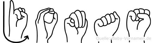 Jomas in Fingersprache für Gehörlose