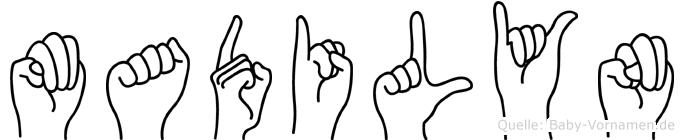Madilyn in Fingersprache für Gehörlose