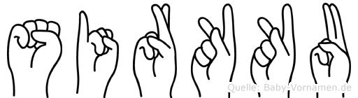 Sirkku in Fingersprache für Gehörlose