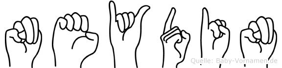Neydin in Fingersprache für Gehörlose