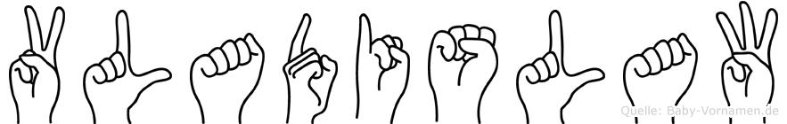 Vladislaw in Fingersprache für Gehörlose