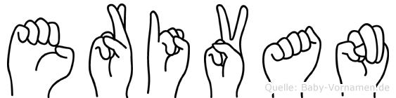 Erivan in Fingersprache für Gehörlose