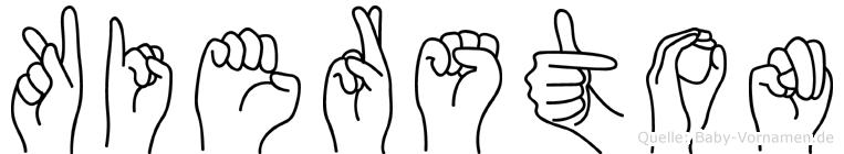 Kierston in Fingersprache für Gehörlose