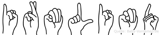Irmlind in Fingersprache für Gehörlose