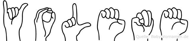 Yolene in Fingersprache für Gehörlose