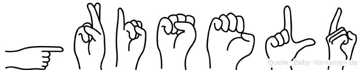 Griseld in Fingersprache für Gehörlose