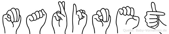 Marinet in Fingersprache für Gehörlose