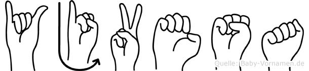 Yjvesa in Fingersprache für Gehörlose