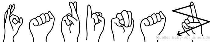 Farinaz in Fingersprache für Gehörlose