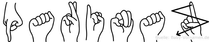 Parinaz im Fingeralphabet der Deutschen Gebärdensprache
