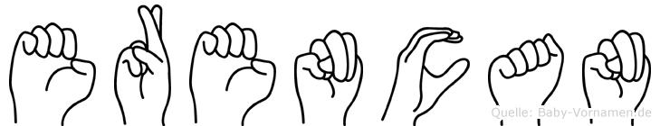 Erencan in Fingersprache für Gehörlose