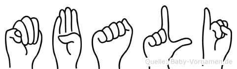 Mbali in Fingersprache für Gehörlose