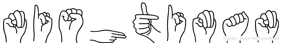 Nishtiman in Fingersprache für Gehörlose