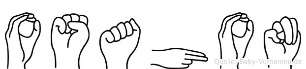 Osahon in Fingersprache für Gehörlose