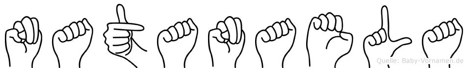 Natanaela in Fingersprache für Gehörlose