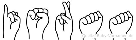 Israa in Fingersprache für Gehörlose