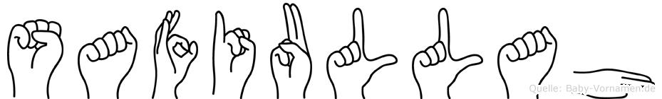 Safiullah in Fingersprache für Gehörlose