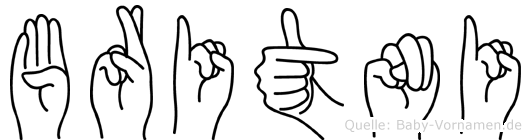 Britni in Fingersprache für Gehörlose