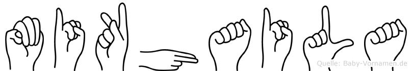 Mikhaila in Fingersprache für Gehörlose