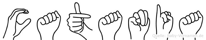 Catania in Fingersprache für Gehörlose