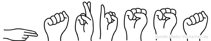 Harissa in Fingersprache für Gehörlose