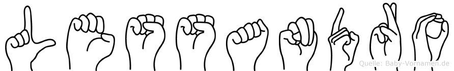 Lessandro in Fingersprache für Gehörlose