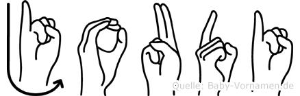 Joudi in Fingersprache für Gehörlose