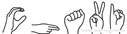 Chavi in Fingersprache für Gehörlose