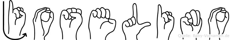 Joselino in Fingersprache für Gehörlose
