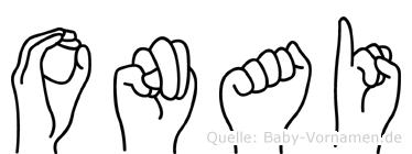 Onai in Fingersprache für Gehörlose
